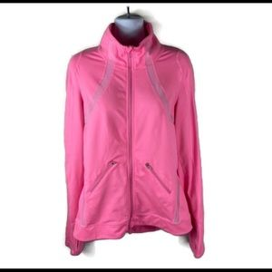Zella Mesh Zipup Jacket Size Large